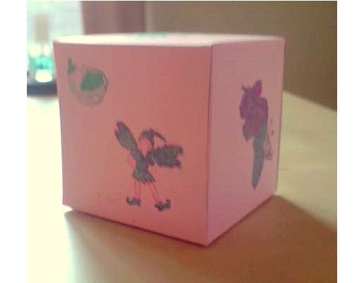 Things to make and do - Gallery: A decorated box by Emily Axtell