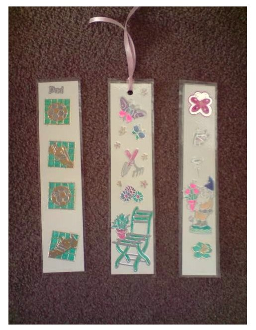 Things to make and do - Gallery: Bookmarks by Emily Axtell