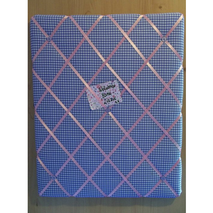 Things To Make And Do Fabric Covered Notice Board Awesome Padded Memo Board