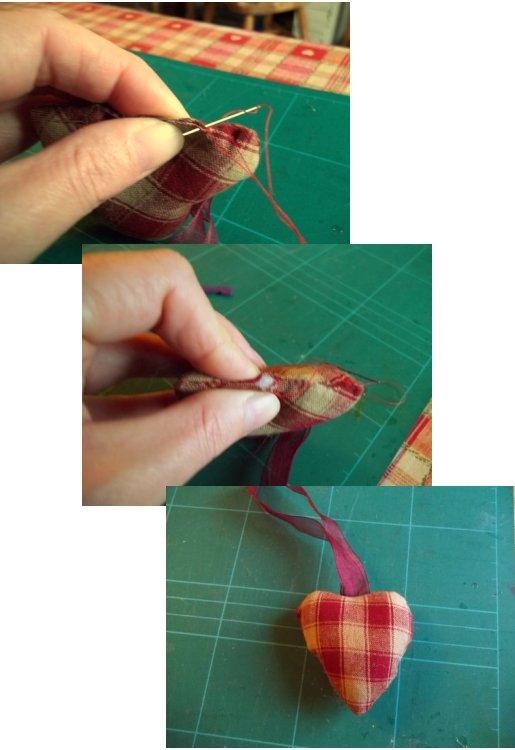 Вещи, чтобы сделать и делать - шить висит сердце украшение