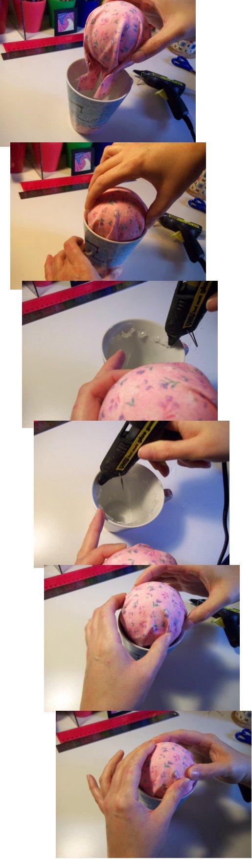 Вещи, чтобы сделать и делают - кружку подушечку для булавок