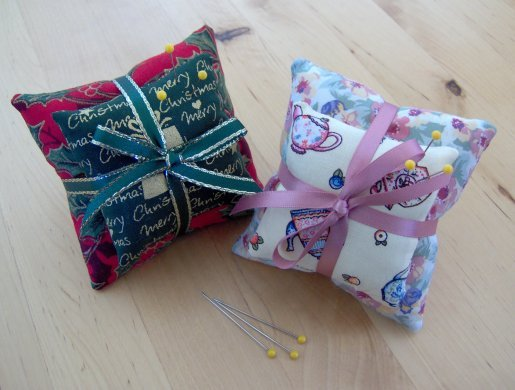 Things to make and do an easy pin cushion for Easy things to build