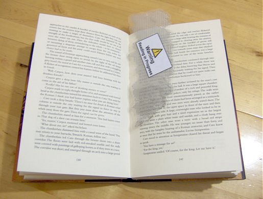 Things To Make And Do Chain Link Bookmark