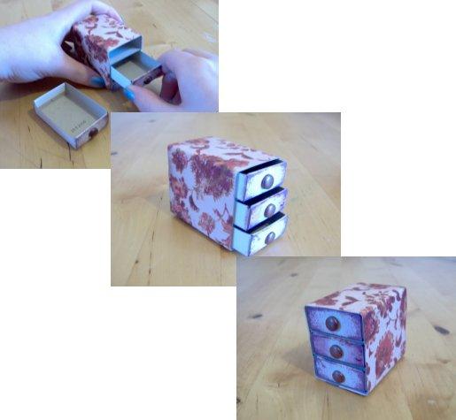 Yapmak ve Yapılacaklar - Çekmece Matchbox Göğüs