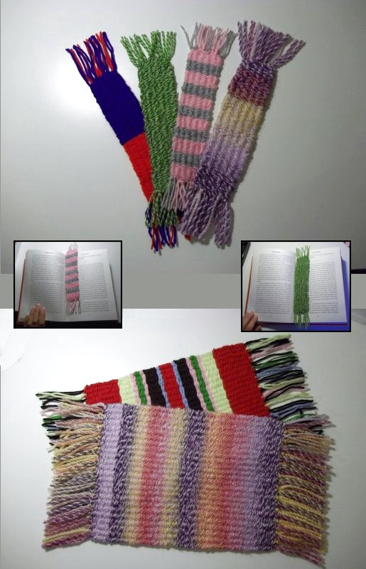 Things to make and do basic weaving with a simple for How to make handmade things at home