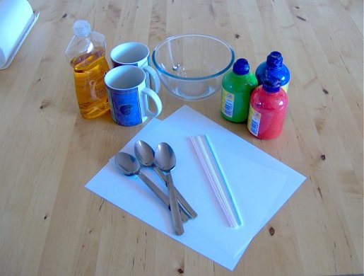 Things to make and do bubble painting for How to make bubbles liquid at home