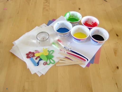 Things To Make And Do Splatter Painting
