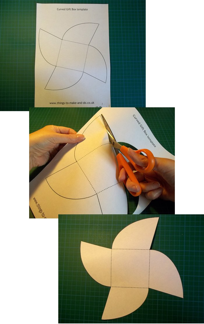 Things to make and do make and decorate a curved gift box things to make and do make a curved gift box negle Image collections