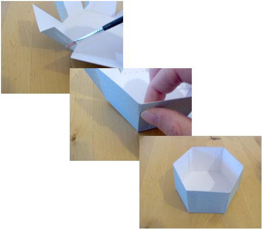 Things to Make and Do - Make and decorate a hexagonal box