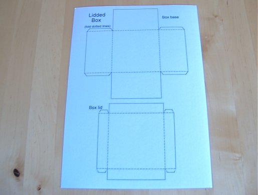 things to make and do make and decorate a lidded square box