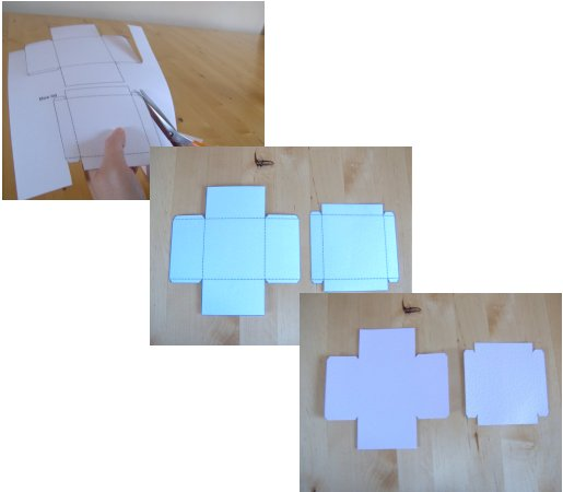 how to make a box out of a4 paper with a lid 2