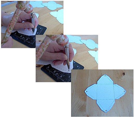 ▓◄ أعمـآل يدويـــة [عمل علب للهدايا] ..►▓ Pyramid-box-how-to-make-4