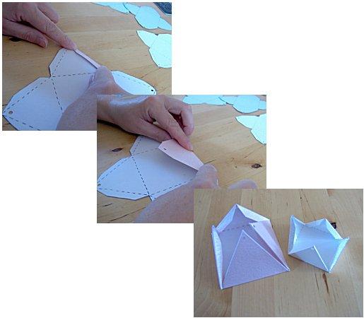 ▓◄ أعمـآل يدويـــة [عمل علب للهدايا] ..►▓ Pyramid-box-how-to-make-5