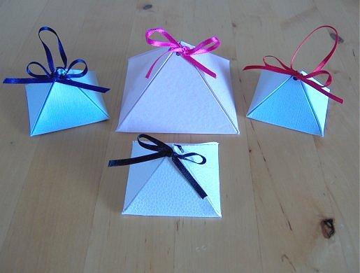 things to make and do make a pyramid box
