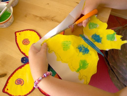 Things to make and do butterflies for Things to make arts and crafts