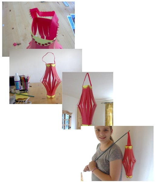 make a chinese lantern from paper or card