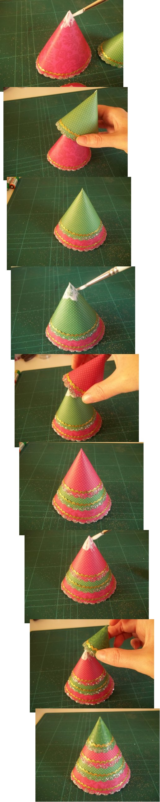 Christmas Tree How To Do : Things to make and do a cone christmas tree