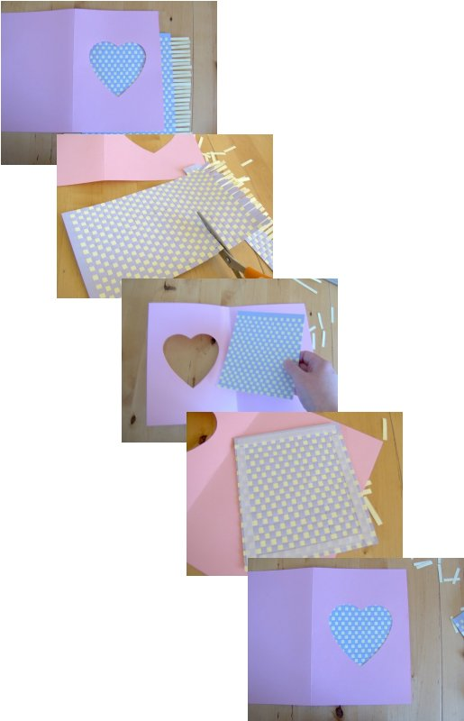 Things to make and do - art: Paper weaving