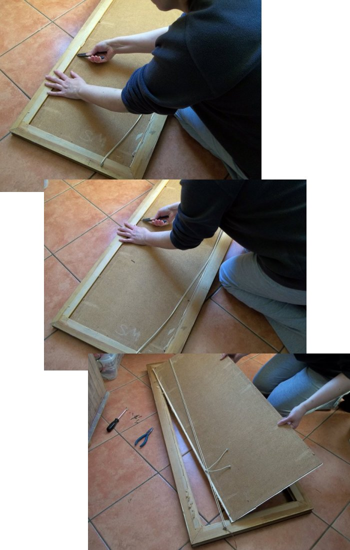 Things To Make And Do Picture Frame Chalkboard
