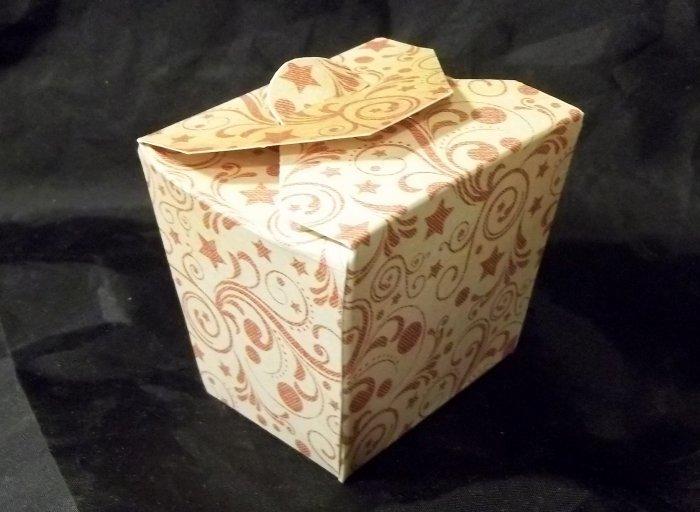Things To Make And Do Chinese Take Away Gift Box