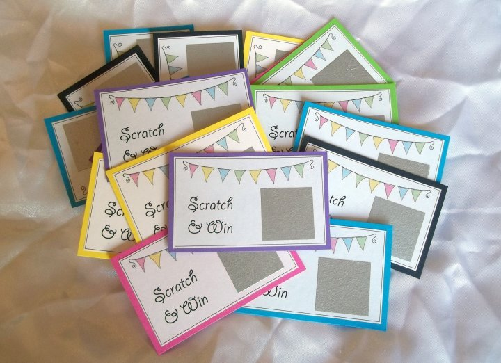 things to make and do  scratch cards