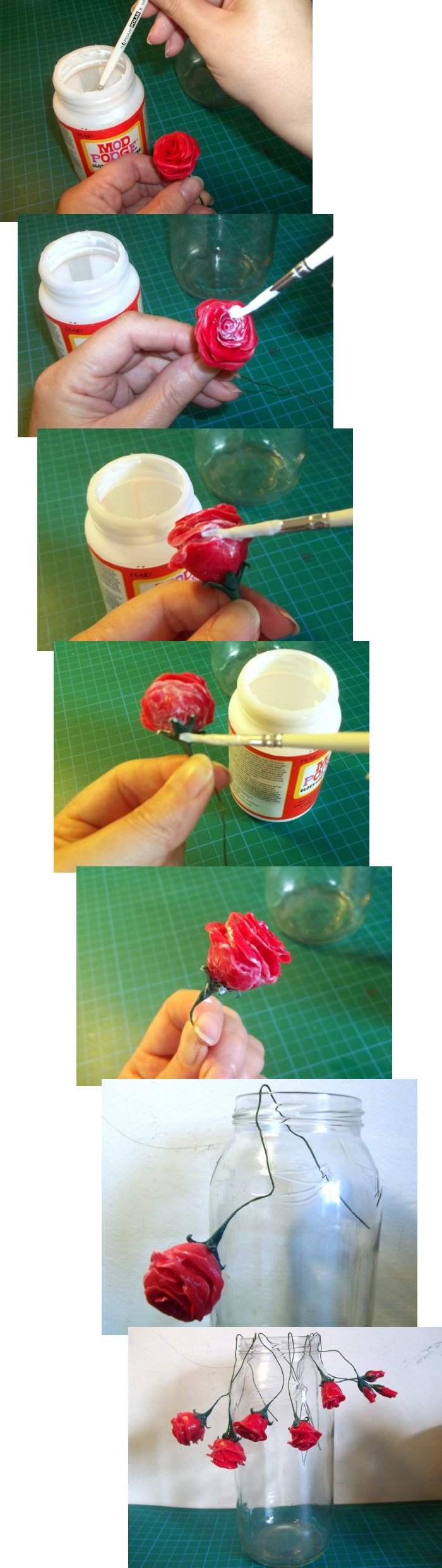 Things To Make And Do Making Cold Porcelain Roses